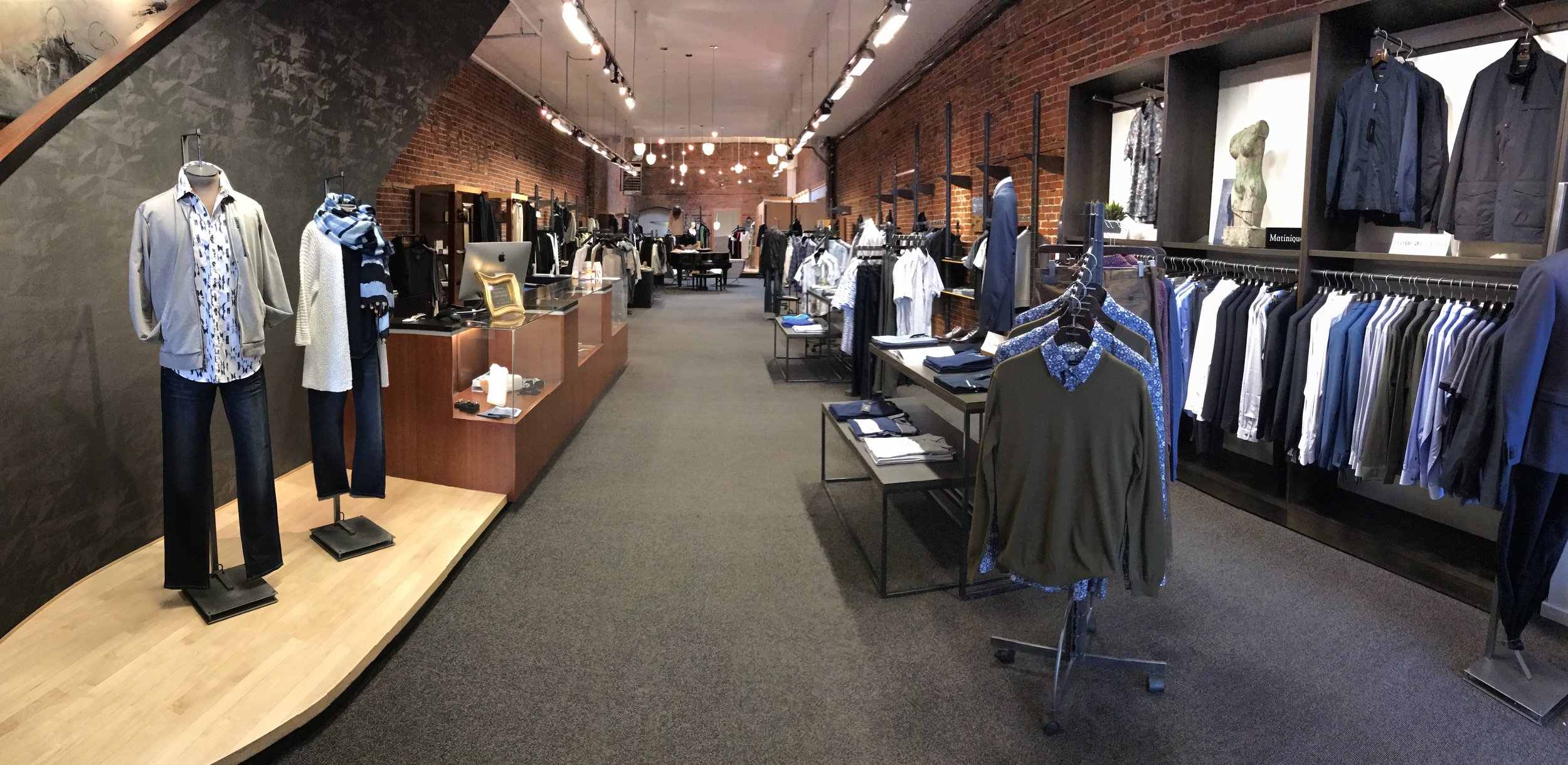 Inside Hughes Clothing