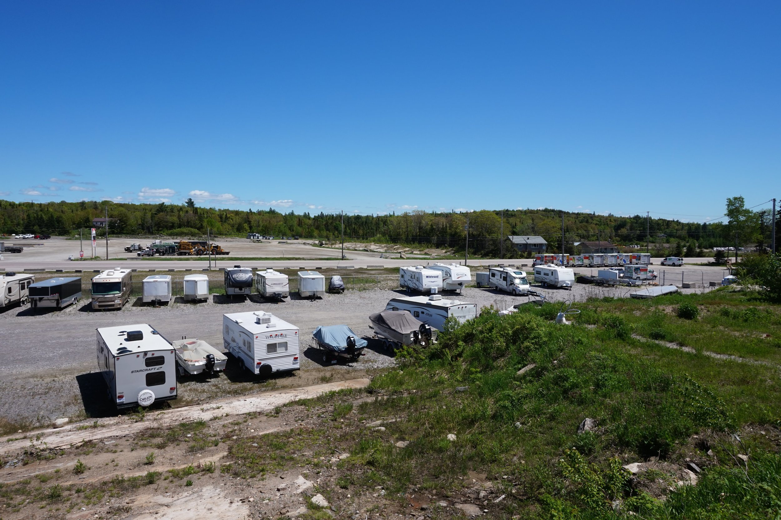 10x45 (450 sq. ft) - Need a place to store your car, boat, RV, jet ski, or snow mobile?Our outdoor parking spaces provide you with ample room for one or more of your seasonal vehicles.