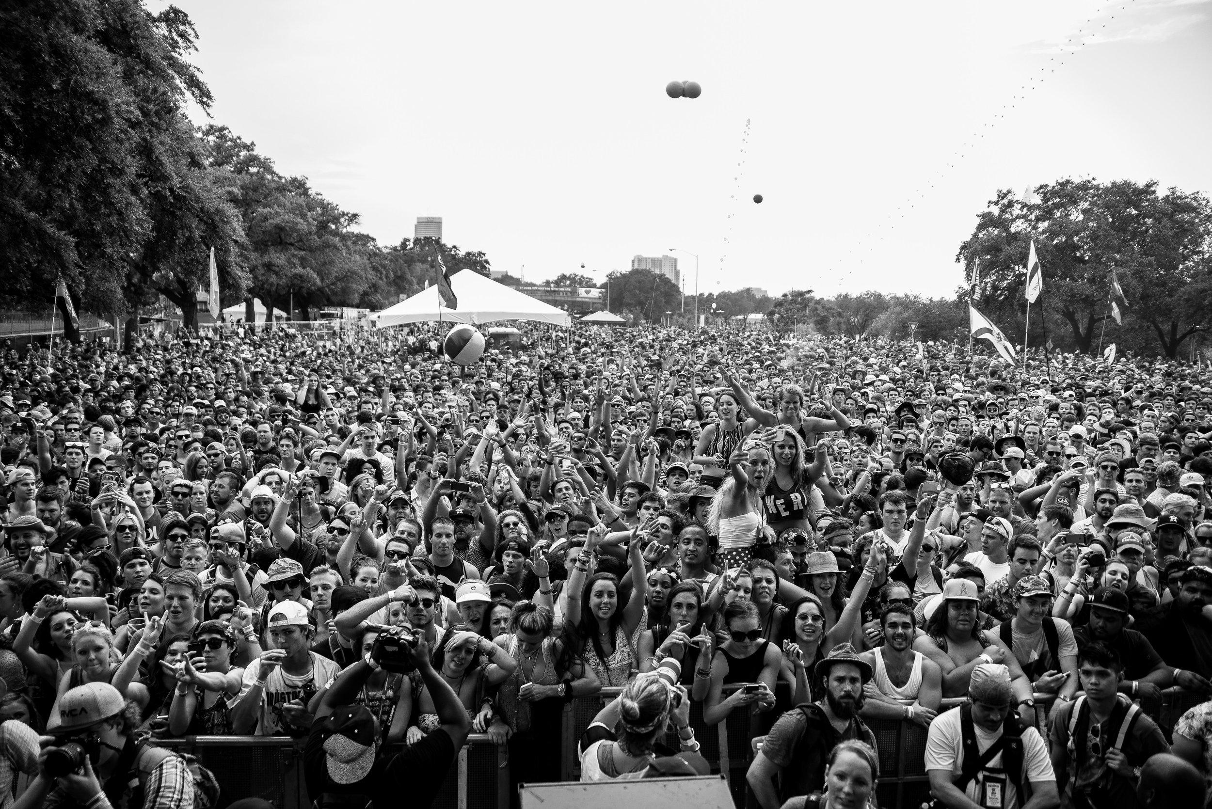 Fans at Free Press Summerfest
