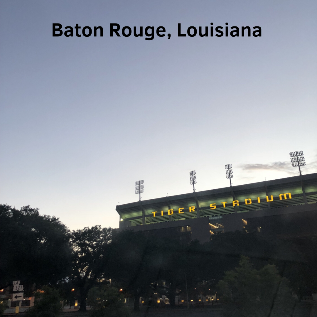 the BEST DAY in Baton Rouge - with Courtney Clark ClevelandThe Hometown Episode