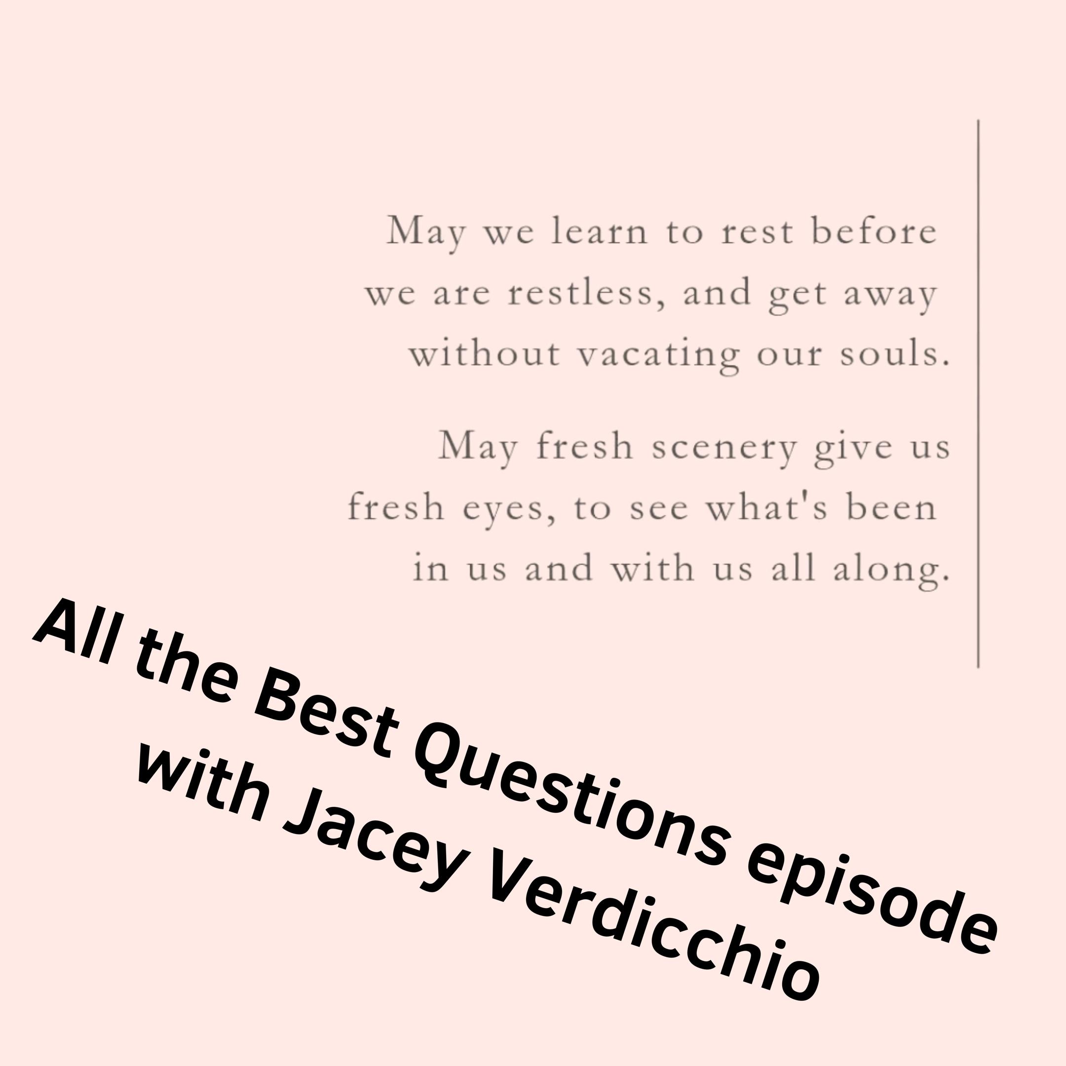 some FAQ's with Jacey Verdicchio @jaceyverdiccio -
