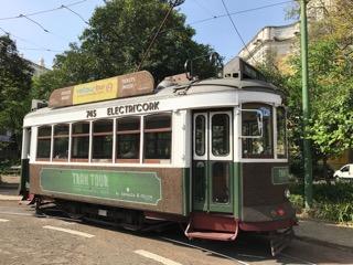 Lisbon, Portgual. Cork trolley.