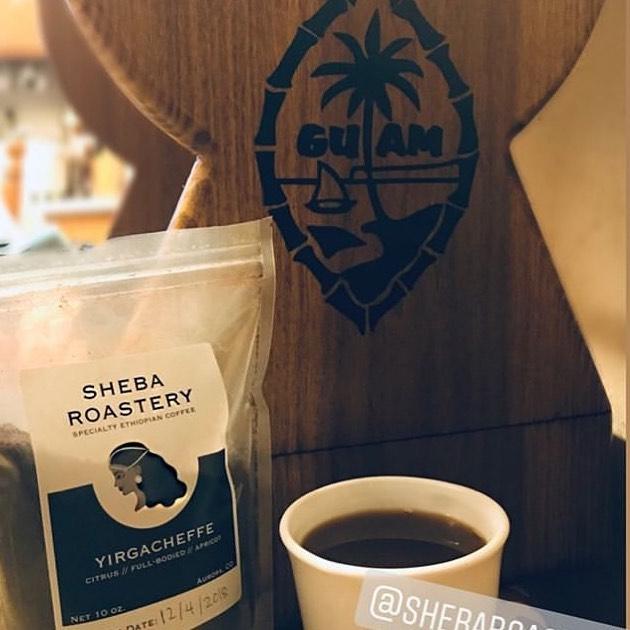 Our #ShebaShukor (shukor= sugar/sweetheart in Tigrinya) is @hellororaa. Aurora is so sweet she shared the Sheba love with her grandma.  Tell grandma we say Hafa Adai (hello in native language of Guam)! • • • #coffeetime #cafe #coffeelover #coffeeaddict #coffeegram #latte #instacoffee #espresso #caffeine #coffeelove #コーヒー #starbucks #morning #coffeelife #cappuccino #coffeeoftheday #tea #specialtycoffee #mug #coffeemug #café #coffeeporn