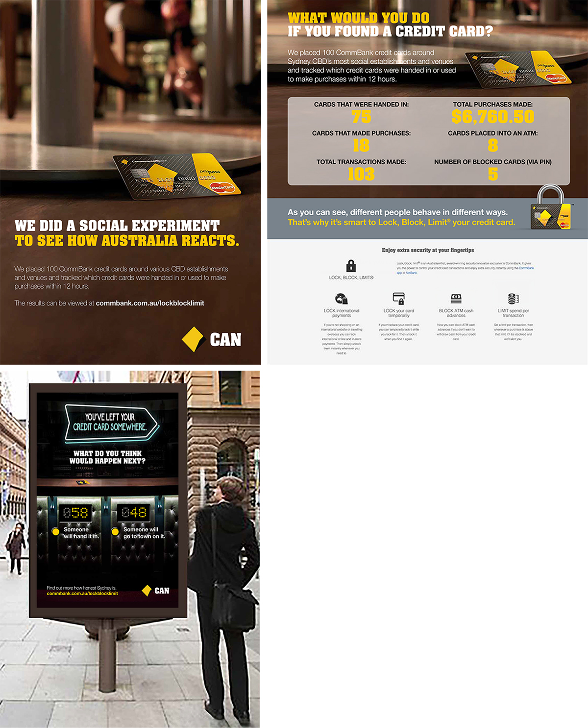 CommBank: Create a social experiment centred around the honesty of everyday people.