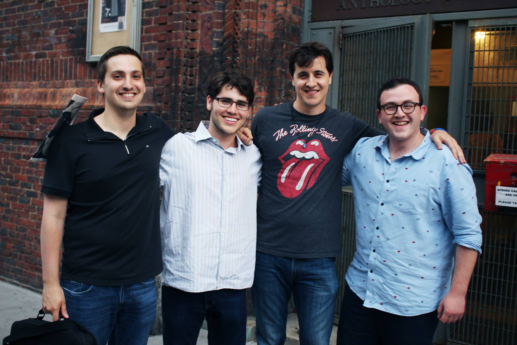 From left to right: Tom Selenow (Writer/Star/Producer), Ryan Reeson (Score), Scott Rocco (Star), Ben Fraternale (Director, Writer, Producer, Editor)