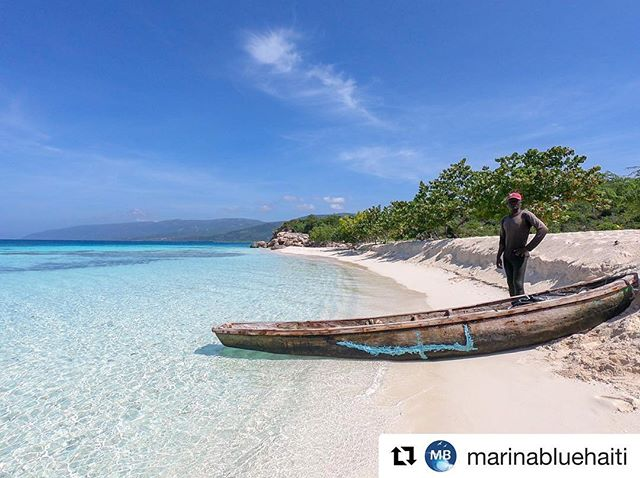 It might be a rainy day in DC, but the sun is shining brightly in Haiti 🇭🇹 😍  Join us in January 2019 to relax with this view. Details in link ☝️ #Repost @marinabluehaiti with @get_repost ・・・ Anse a Raisins, La Gonave! Discover this hidden gem with Marina Blue, your adventure tour agency in La Cote des Arcadins, Haiti! #cotedesarcadins #caribbean #marinabluehaiti #shareyourhaiti #haiti #travelwithaninsider #beach #vitaminsea #travel #holidays #underthesun #ocean