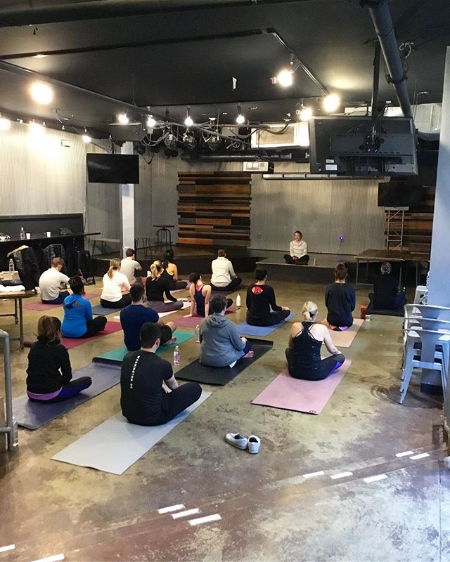 A HUGE thank you to the amazing group of yogis who came out to support our friends in Haiti today! We are so excited to share that this event alone helped raise $700!! We are so grateful to @ebenezerscoffeehouse for their partnership and beautiful space to flow in. We are excited to keep this momentum going with more events in the coming weeks!! Stay tuned for details on our next event tomorrow 😊❤️🧘‍♀️ * * * #haiti #thisishaiti #myhaiti #ayiticherie #partnership #socialimpact #paradigm #myparadigm #dobiggerthings #yoga #yogaforgood #yogaretreat