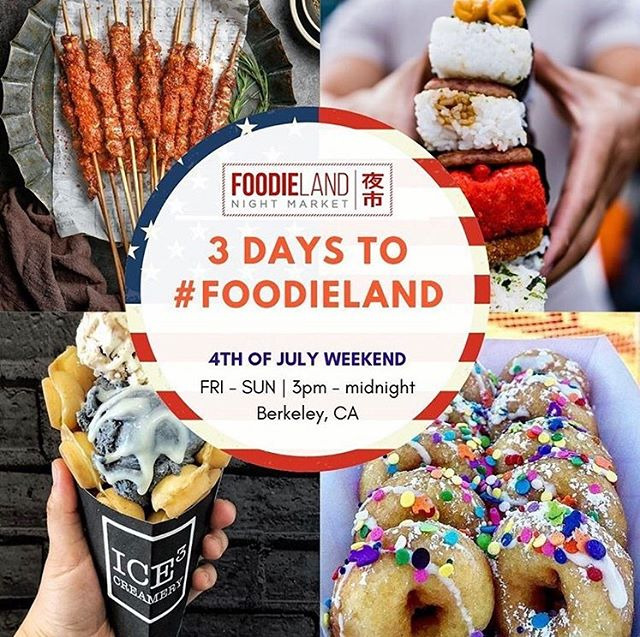 3 days to #Foodieland ! Just go straight from the entrance to find us! . . . . . . #foodielandnm #foodielandnightmarket #nightmarket #bayarea #bayareanightmarket #bayareaeats #bayareafood #norcal #norcalnightmarket