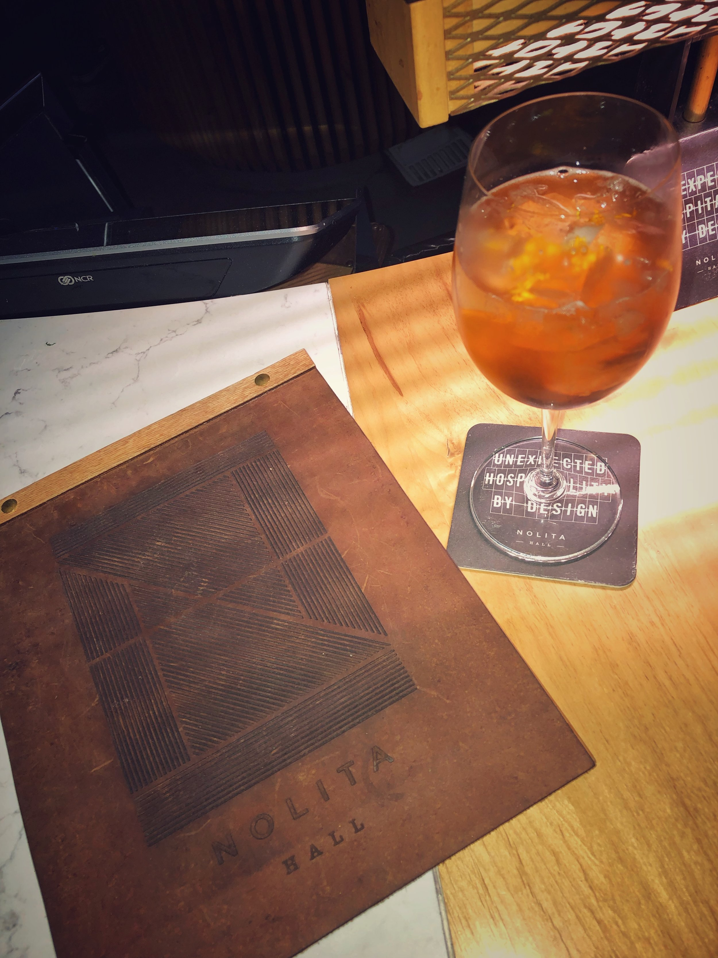 Nolita Hall: Nolita Winter Spritz