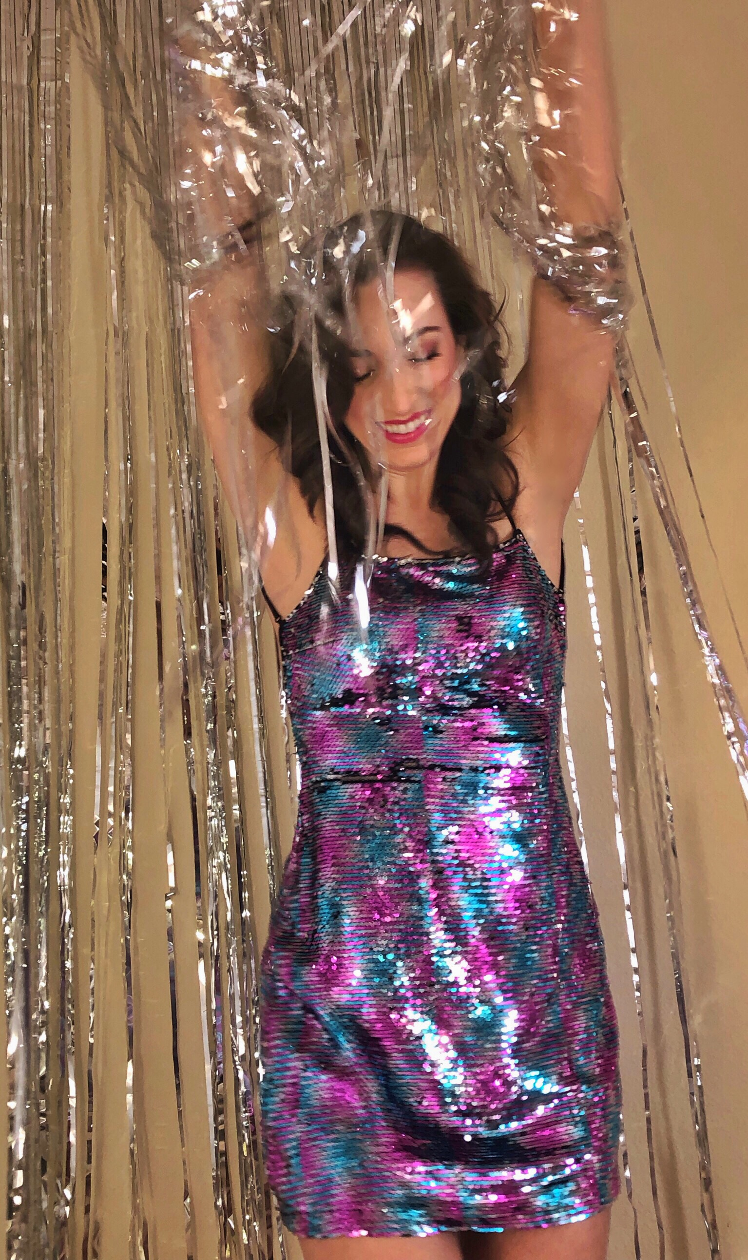 New Year's Eve Revolve Clothing Sequin Dress