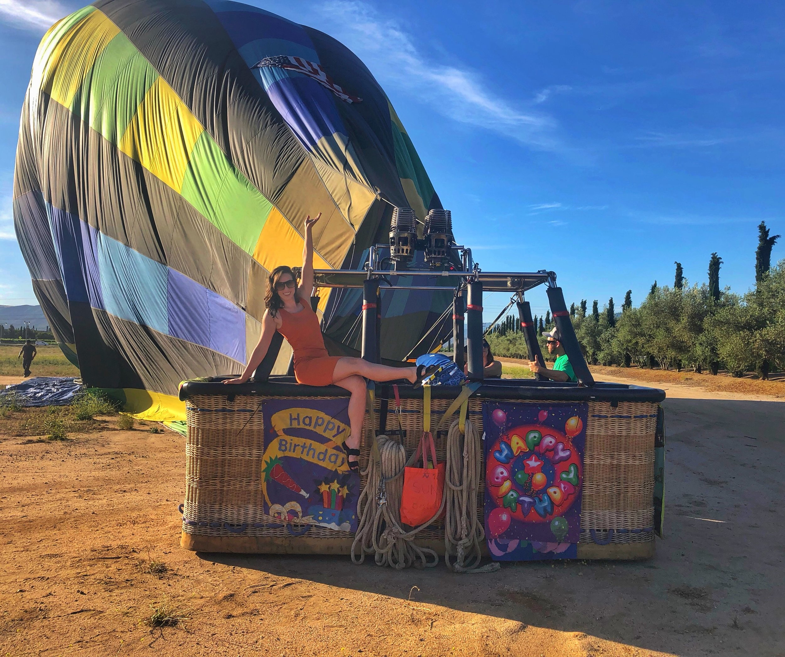 Hot Air Balloon Ride in Temecula Valley.