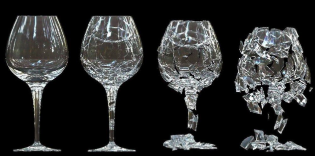 Shattering Wine Glass Through Sound and Resonance -