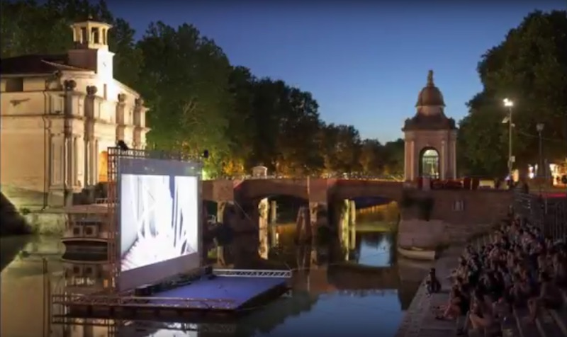 ROCKABUL screening at the River Film Festival Padua, Italy