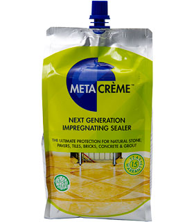 META CREME  is an ultra-low VOC impregnating sealer providing outstanding stain protection.