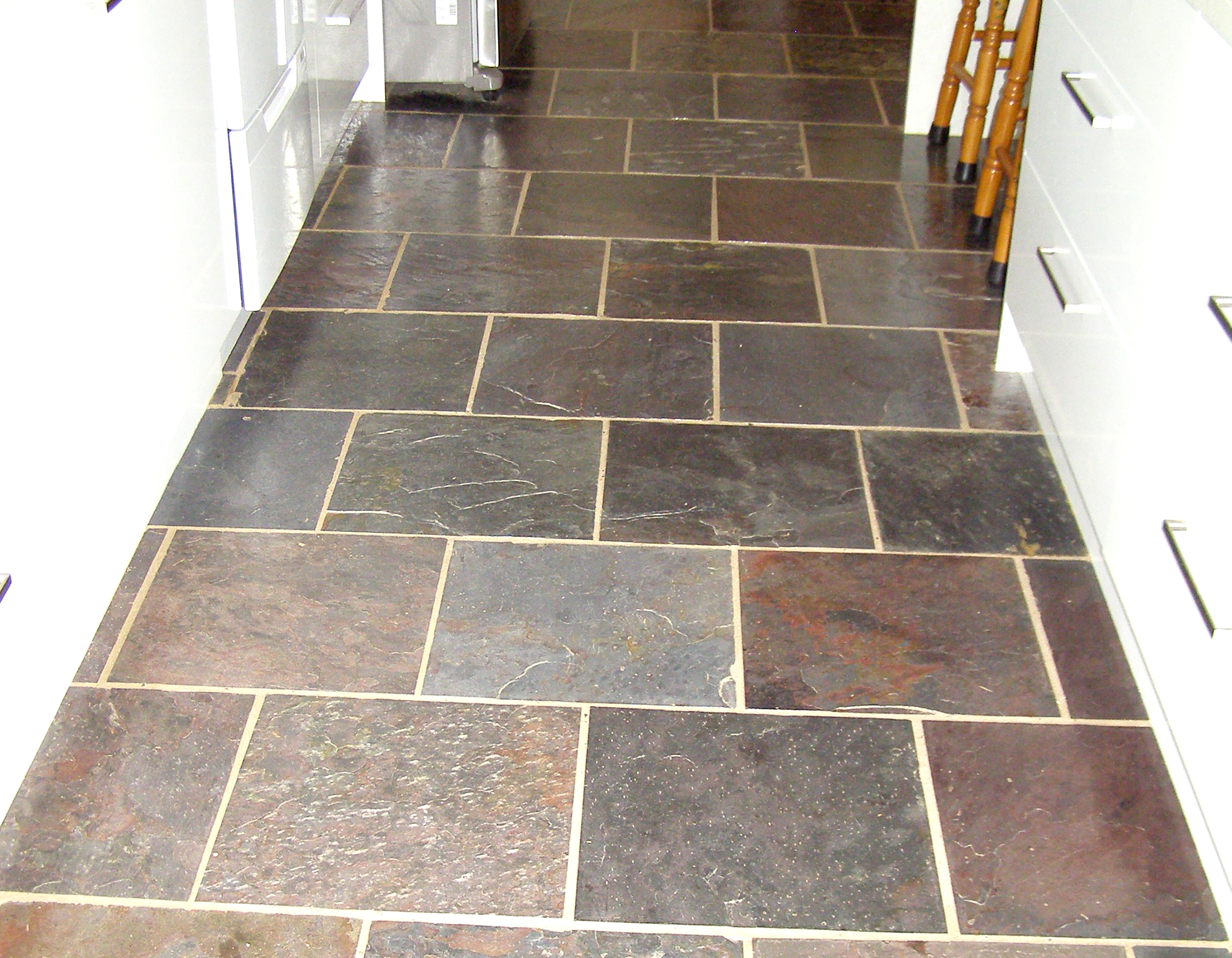 Kund Indian Slate in Kitchen Area