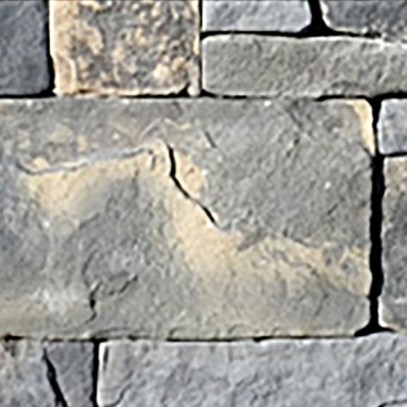 Dry Stacked Bluestone