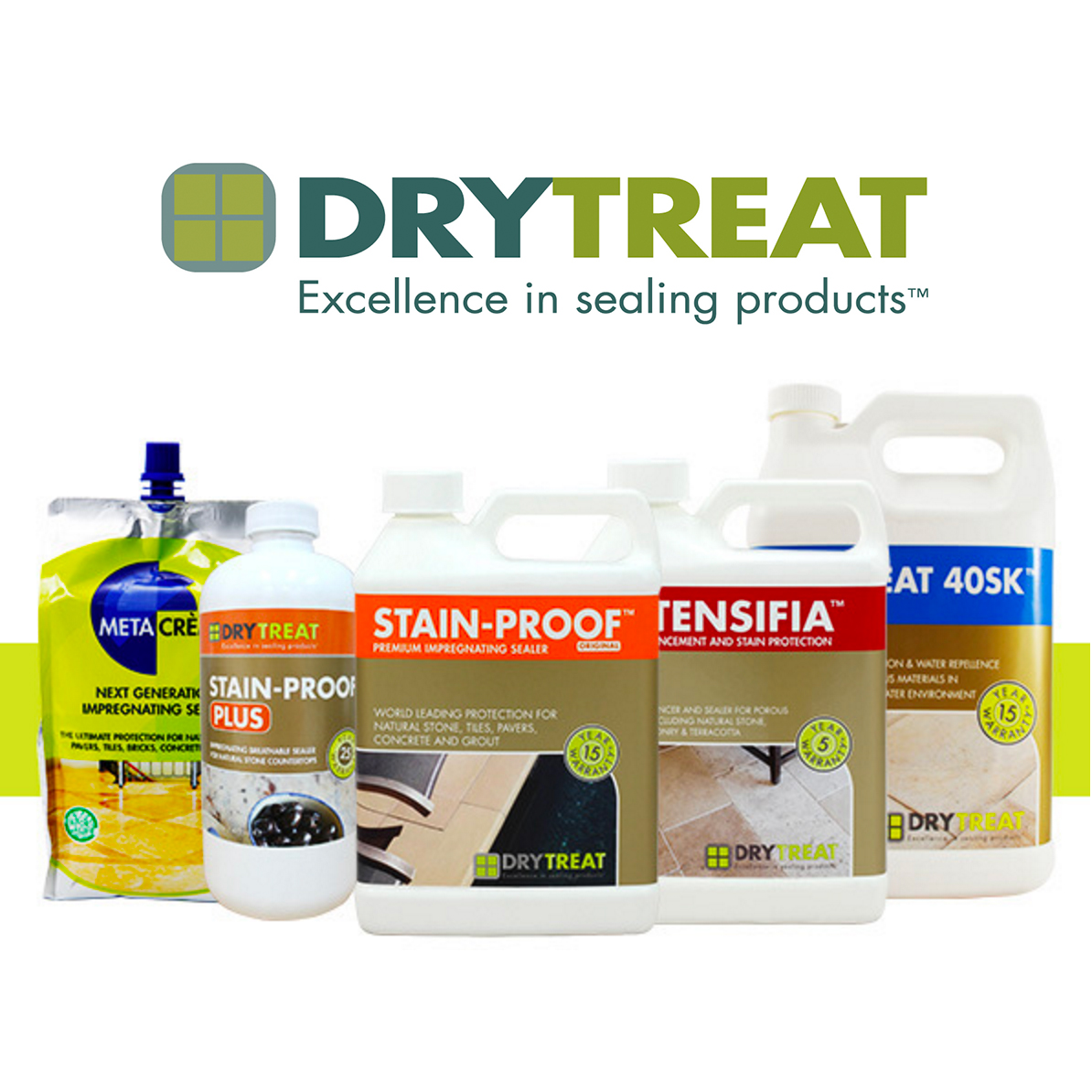 Dry-Treat Stone Sealers