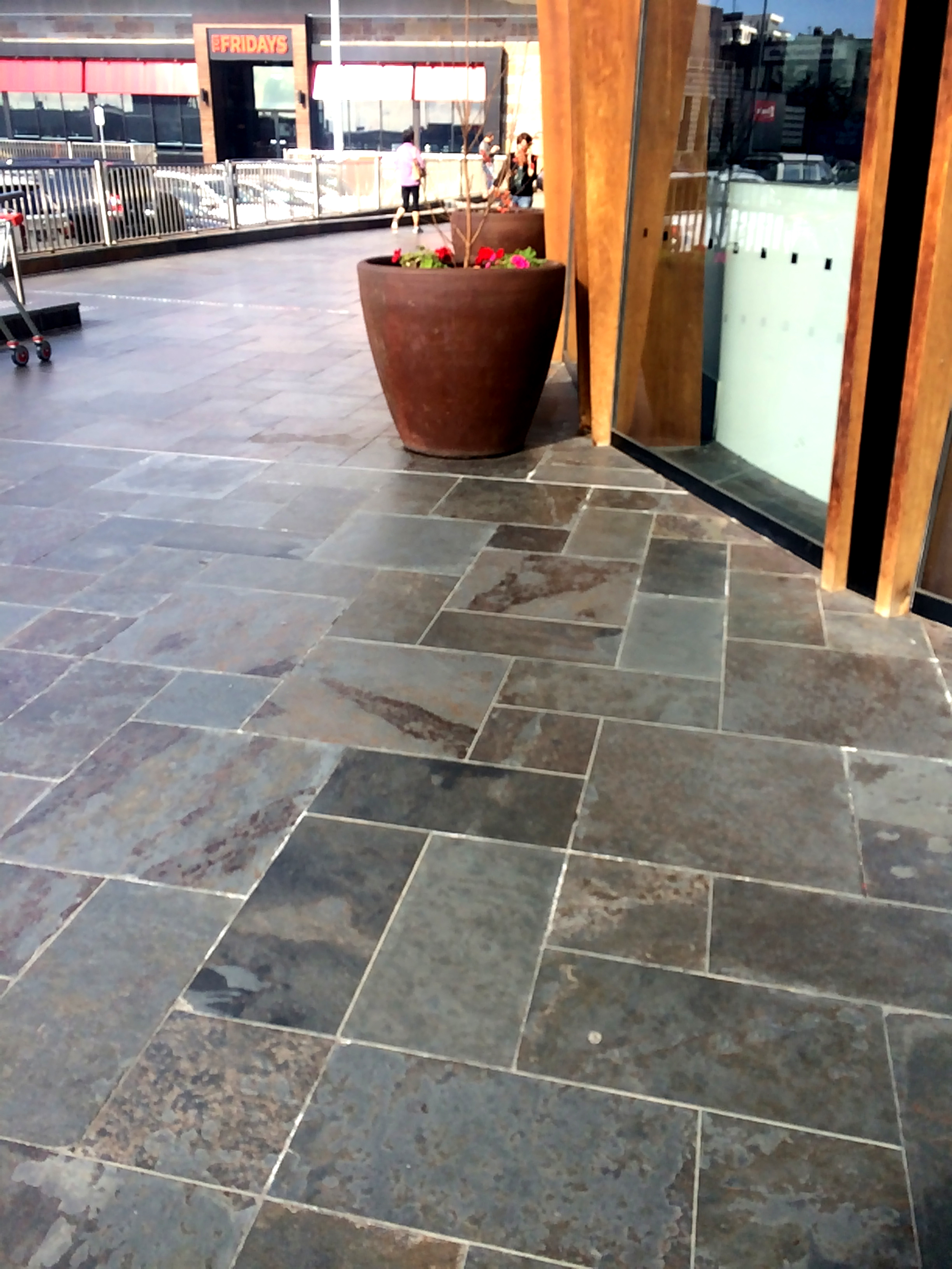 Slate Paving, Doncaster Shoppingtown