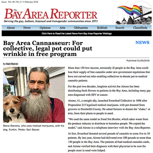 sweetleaf collective bay area reporter