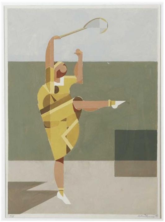 """Knud Merrild, """"Tennis"""""""