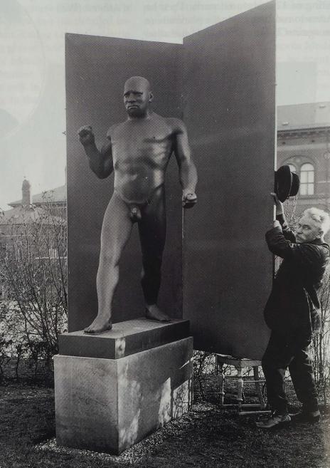 """Jean-René Gauguin, """"Boxer"""""""