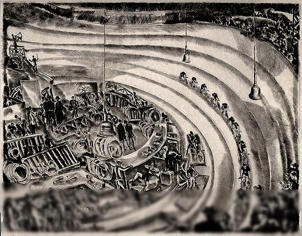 "Hermine David, ""The Six-Day Race"""