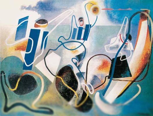 "Enrico Prampolini, ""Angels of the Earth"""
