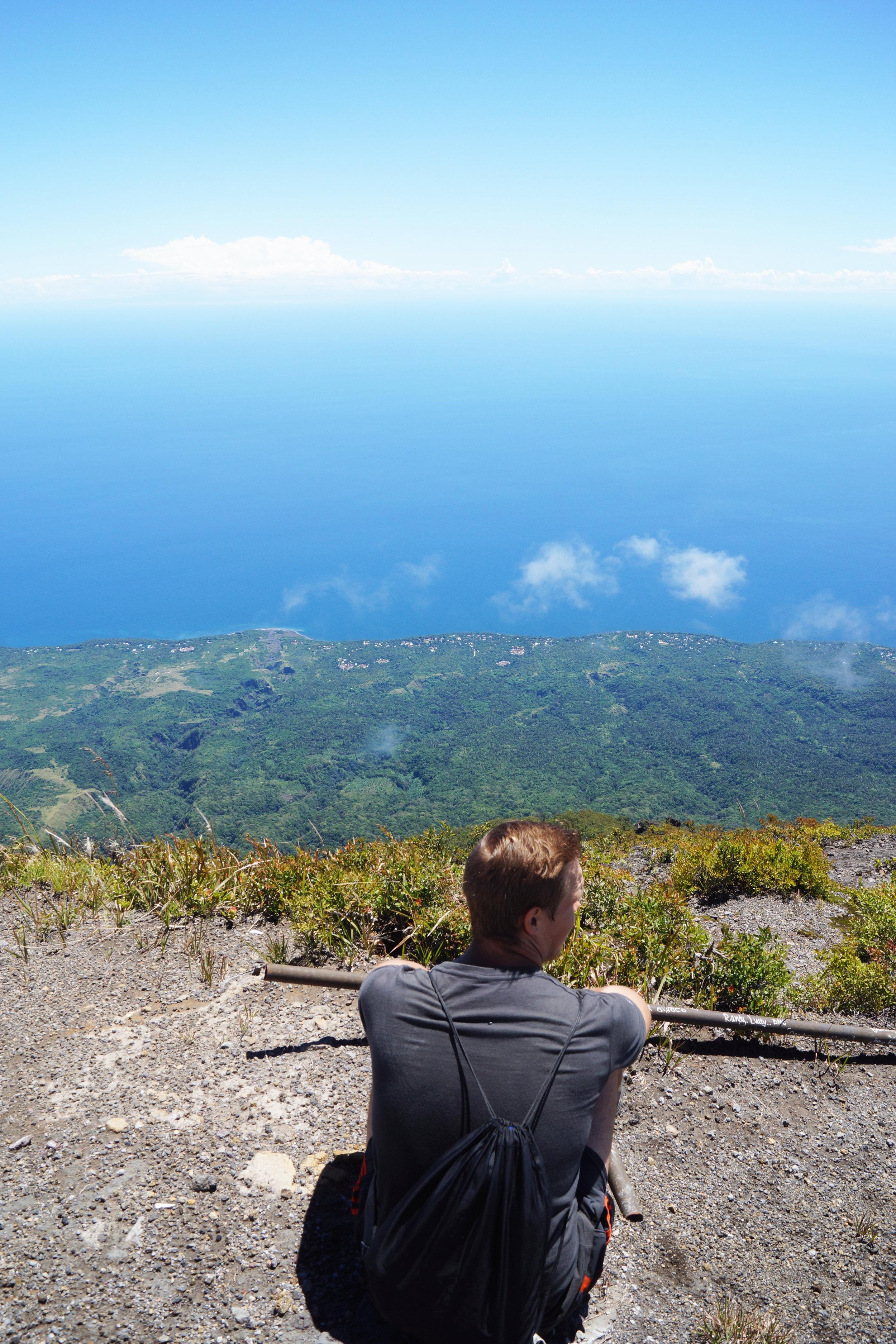 Sami sits at the summit.
