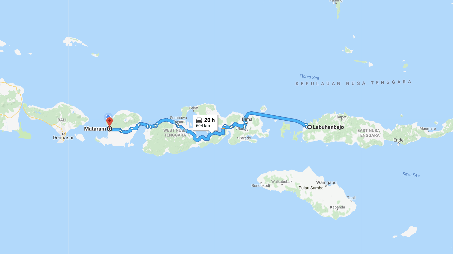 The route.