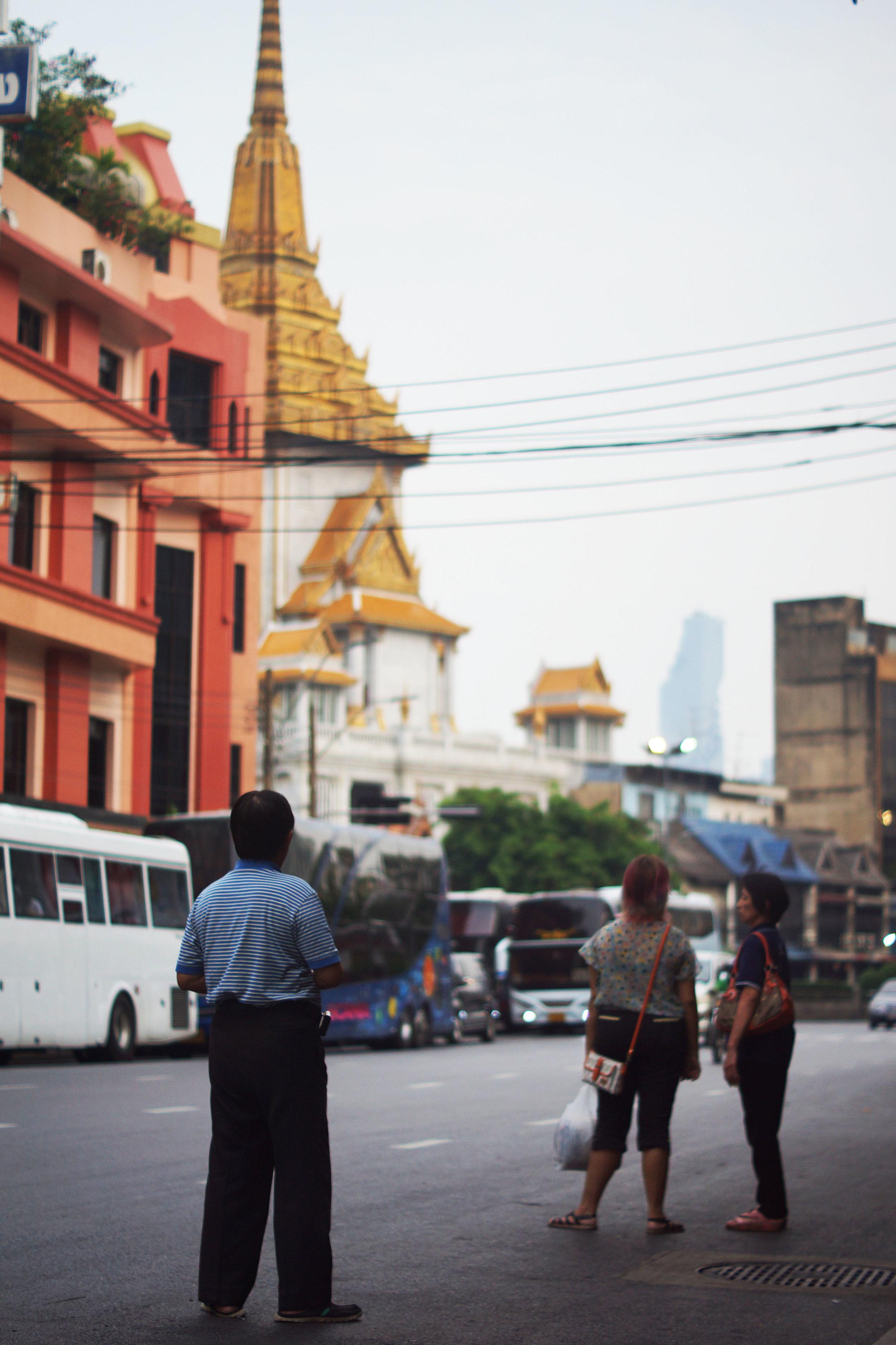 Waiting, waiting, waiting in Bangkok.
