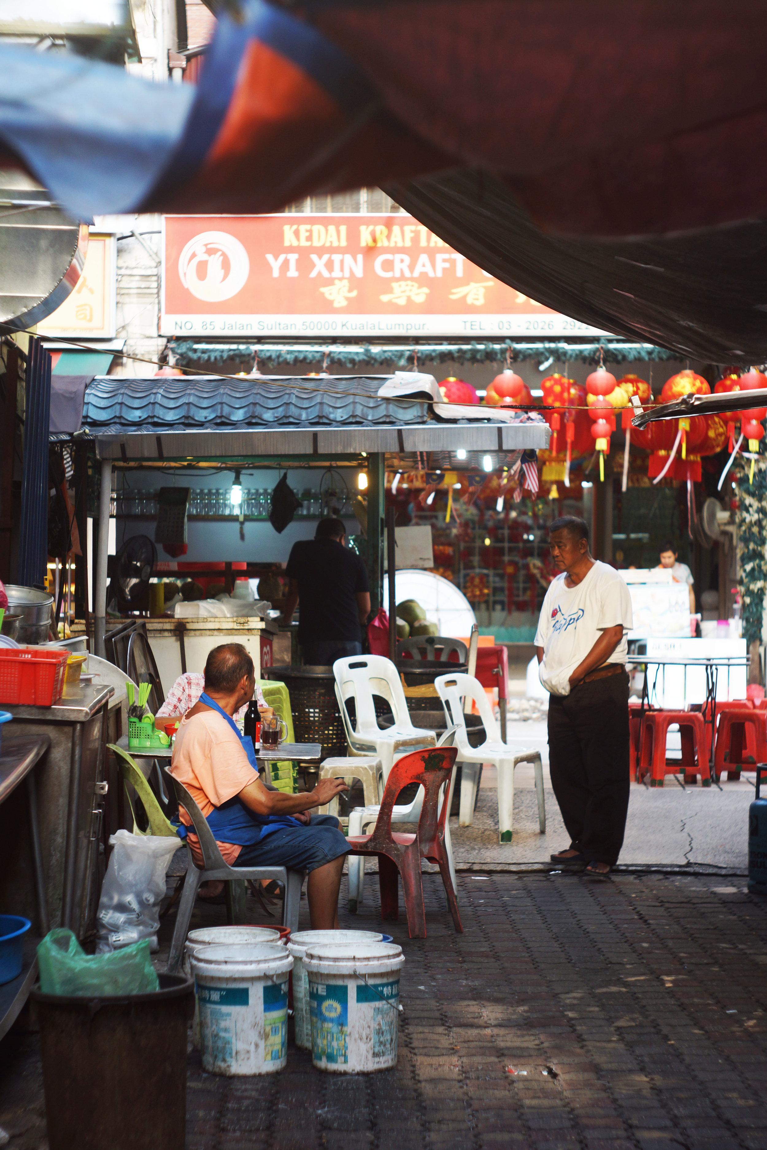 Chinatown, Kuala Lumpur.