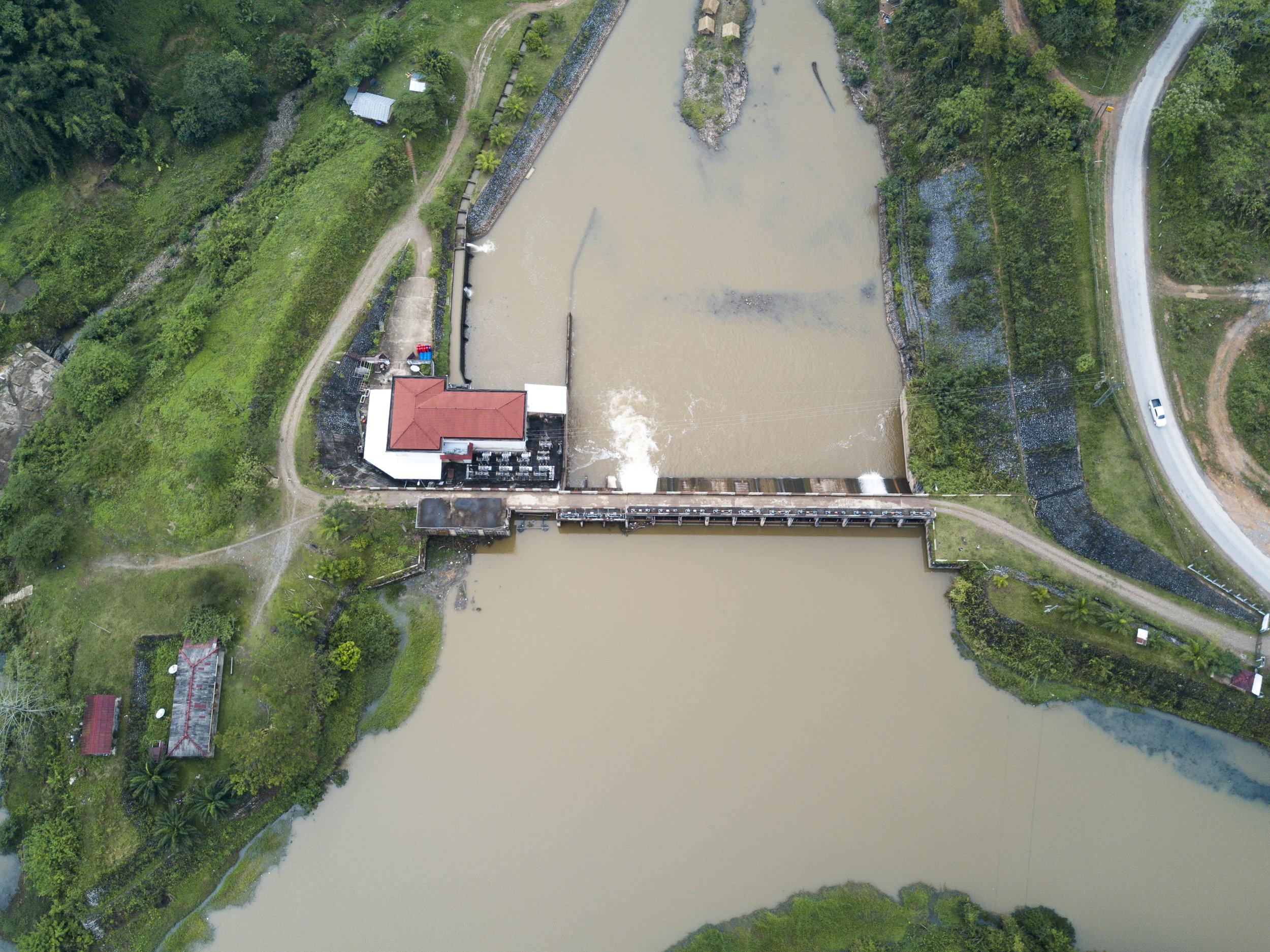 The cursed dam.