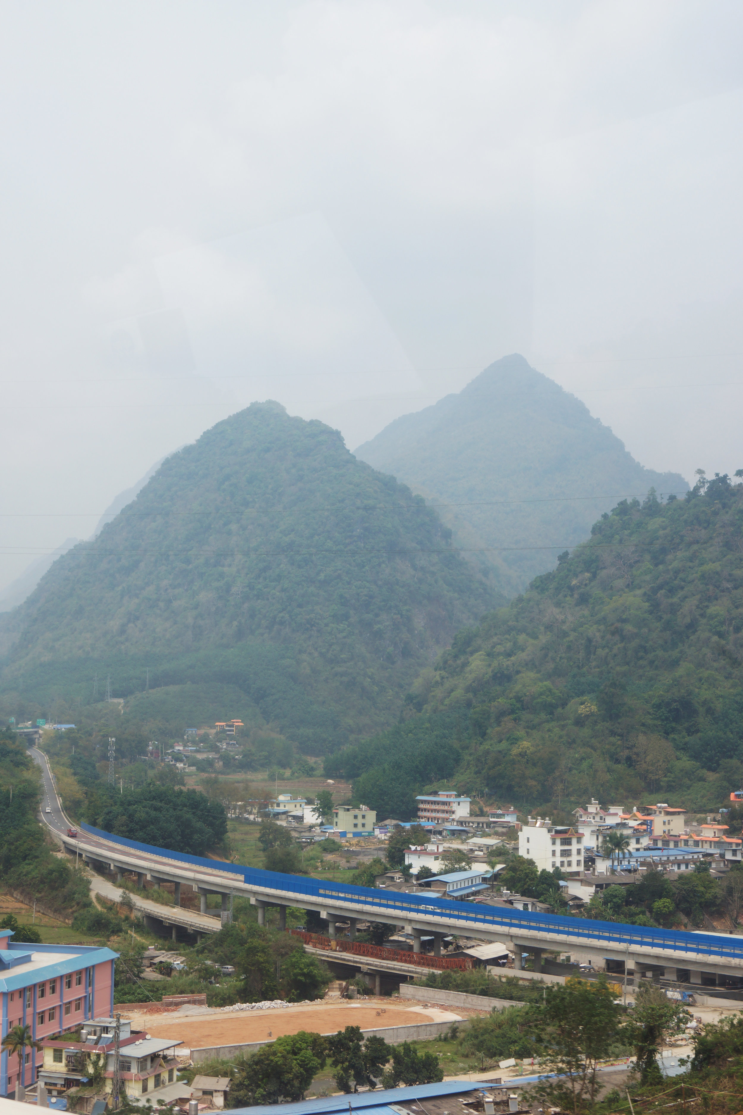 View on the road to Jinghong.