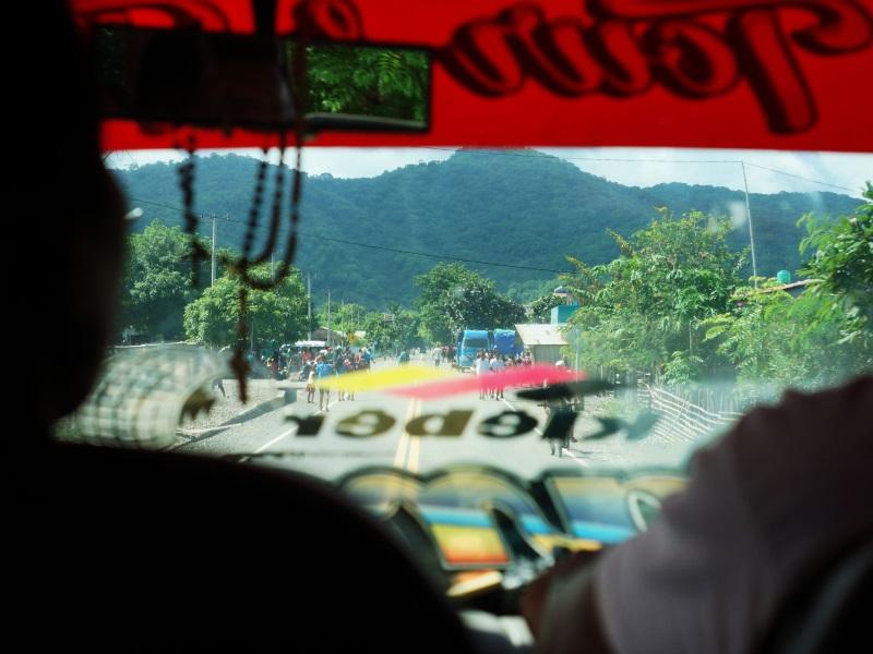 Inside the Paradise minivan, from Dali to Kupang.