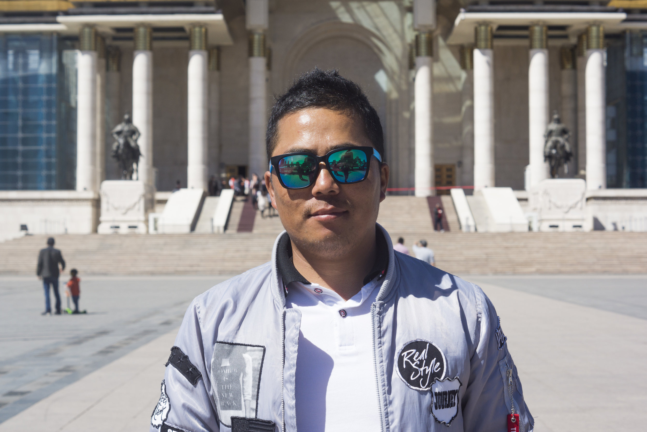 Ogi, 35, hoped the summit would bring further attention to Mongolia.