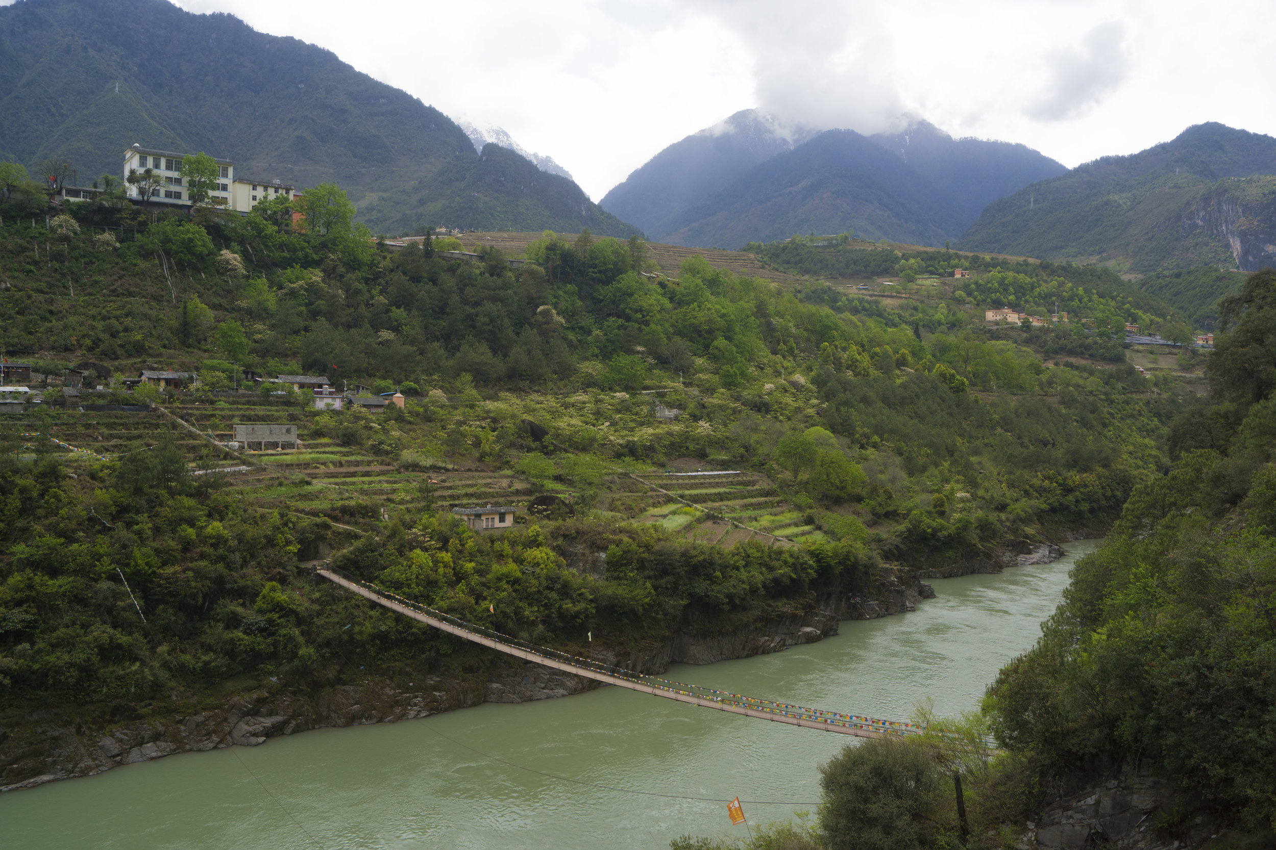 The Nujiang River