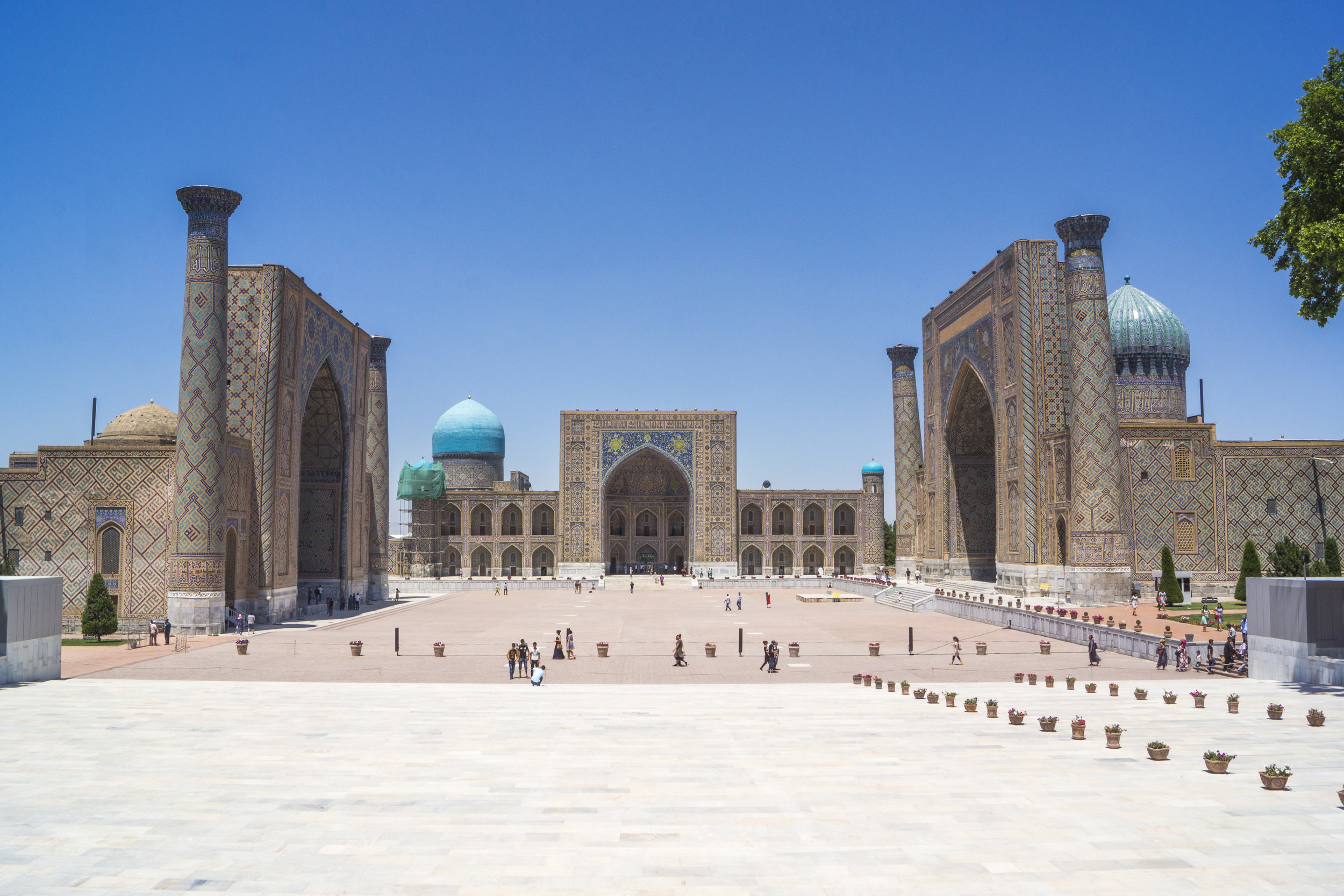 Samarkand, Uzbekistan. .
