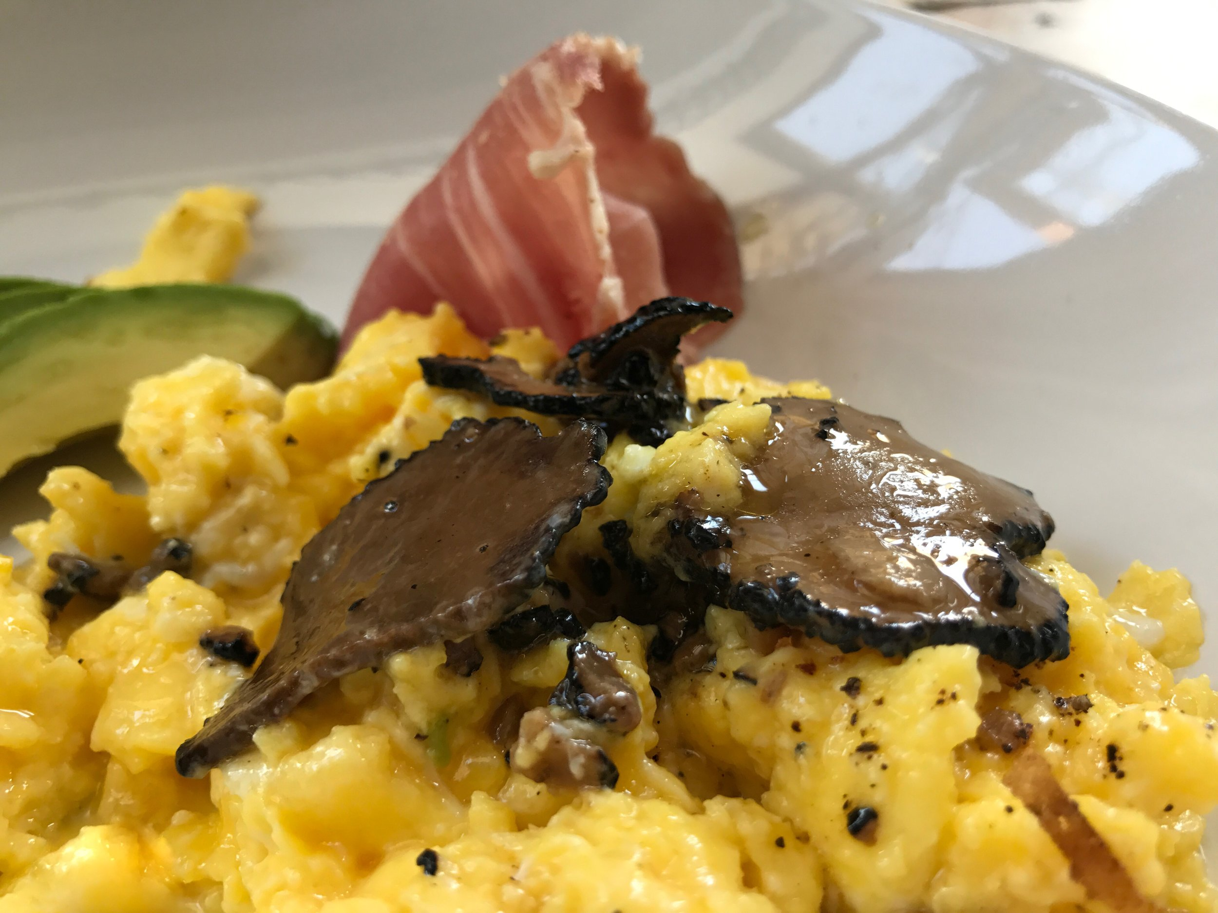 Matt got truffle eggs, and was not disappointed.