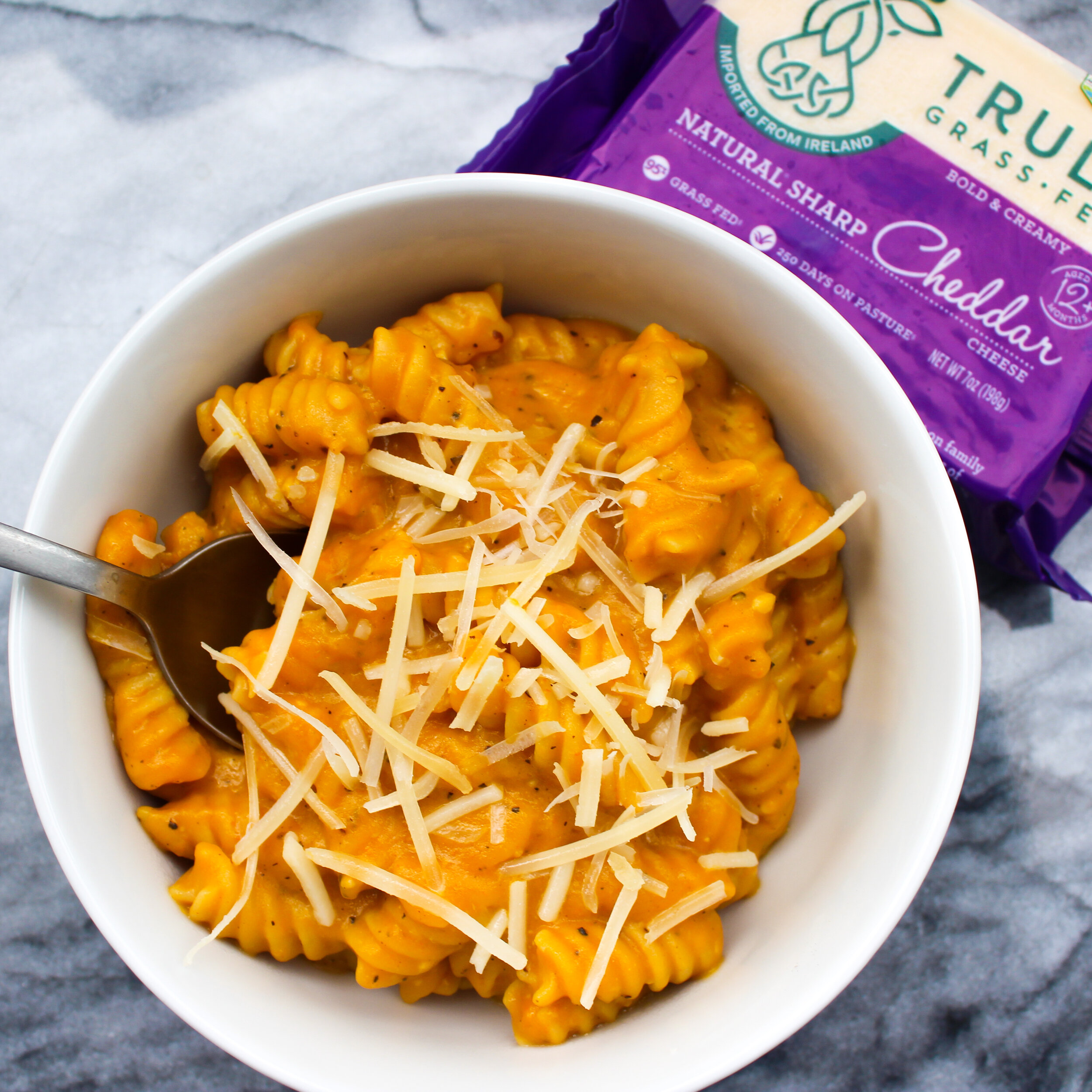 Healthy Pumpkin Mac & Cheese