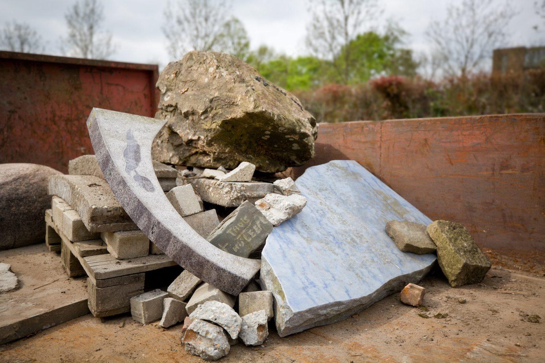 Een gerecyclede grafsteen? Het kan! -