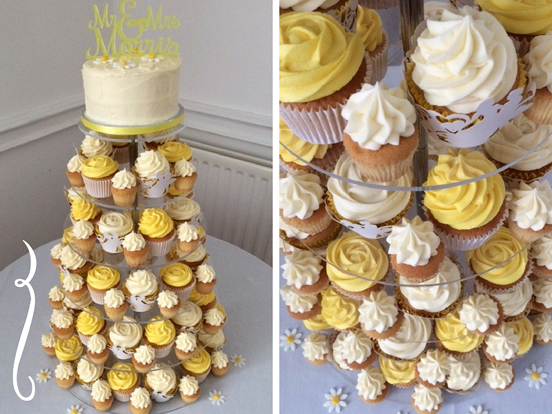 Mr & Mrs Morris - Creams and yellows, a sunny Spring day to tie the knot