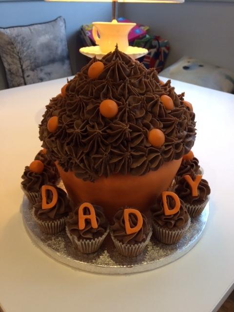 Choc Orange Daddy Giant Cupcake.JPG