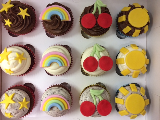 Cherries, Sun, Rainbow Cupcakes.jpg