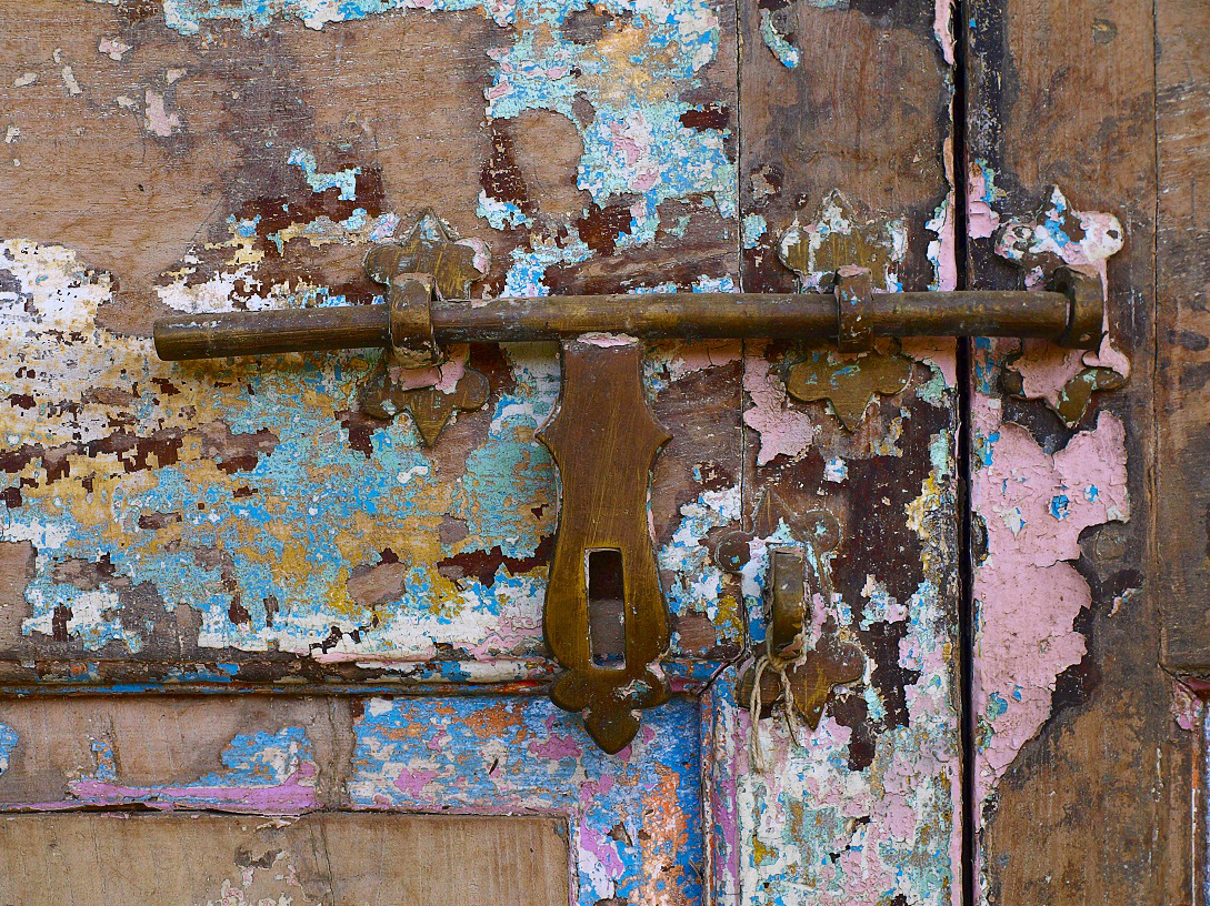 Weathered carved door (2) - South Africa.jpg
