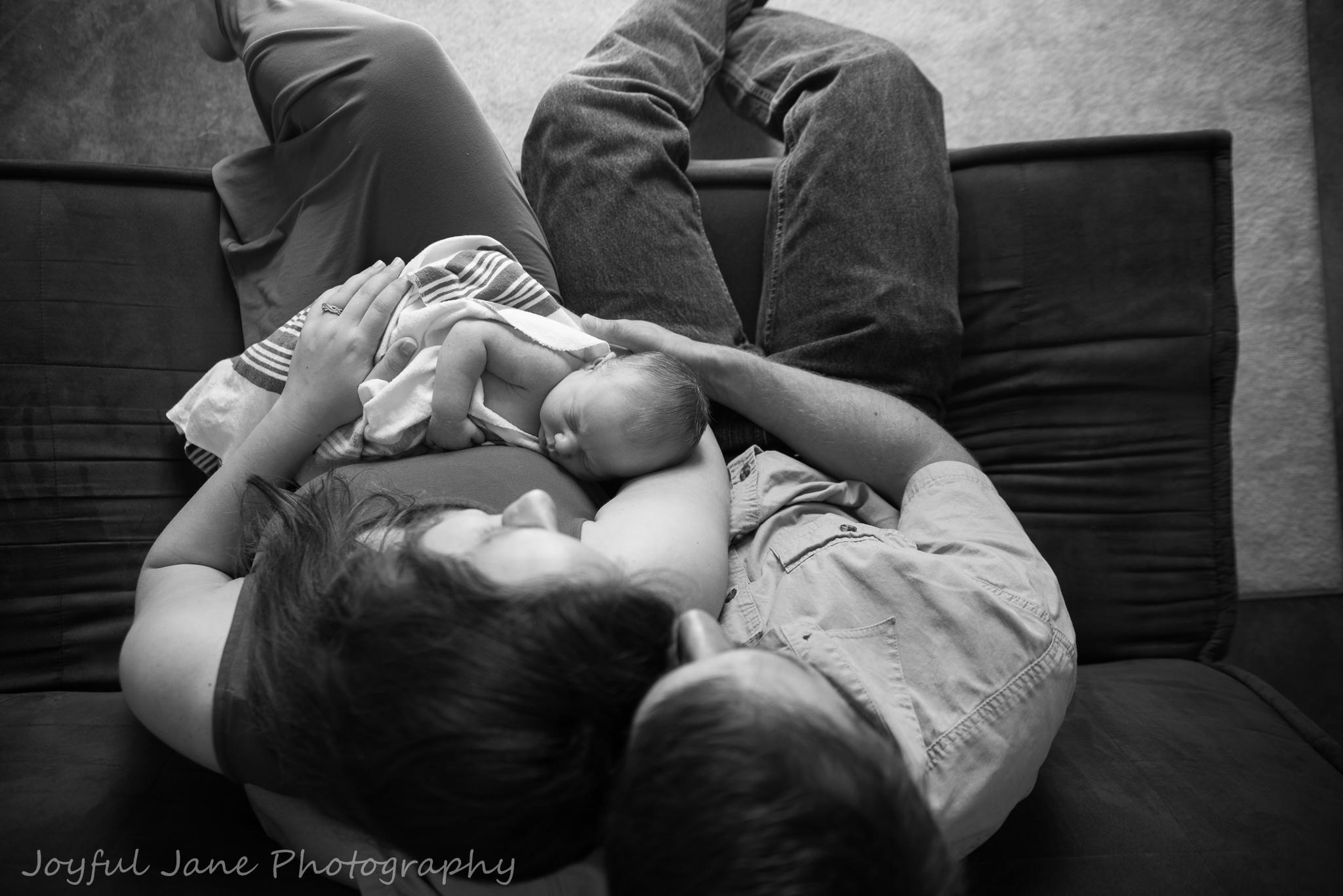 Joyful Jane Photography, In-home lifestyle newborn photography