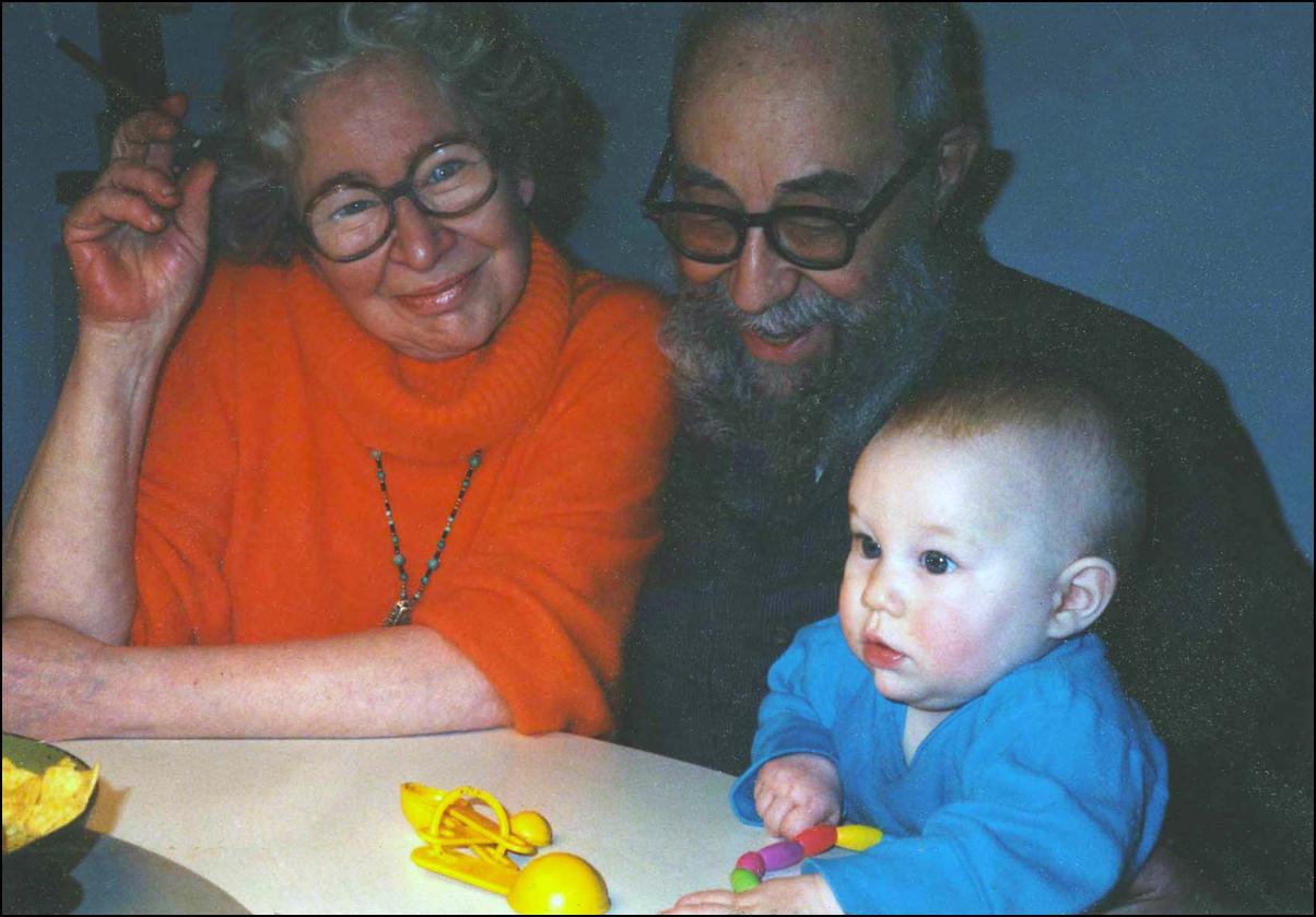 Mary, Roy & Granddaughter Zora