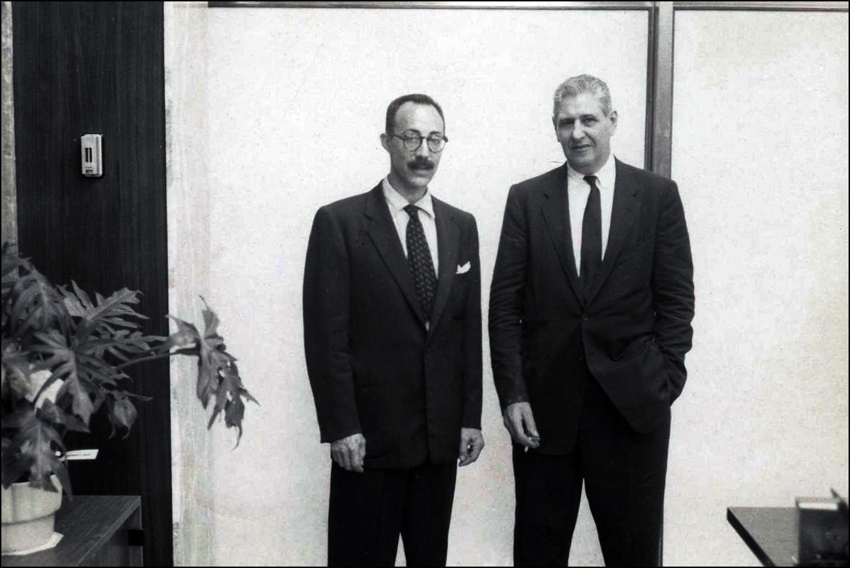 Roy and Jose de Rivera