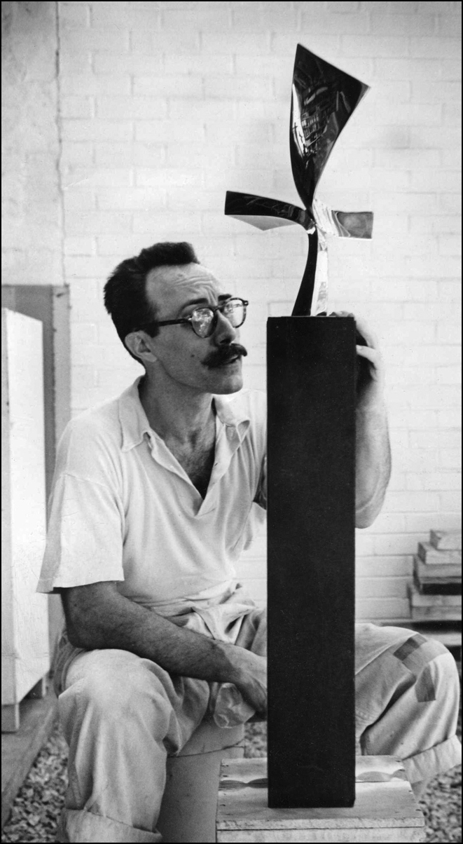 With Model for, Flight, Wilmington Commission - 1959