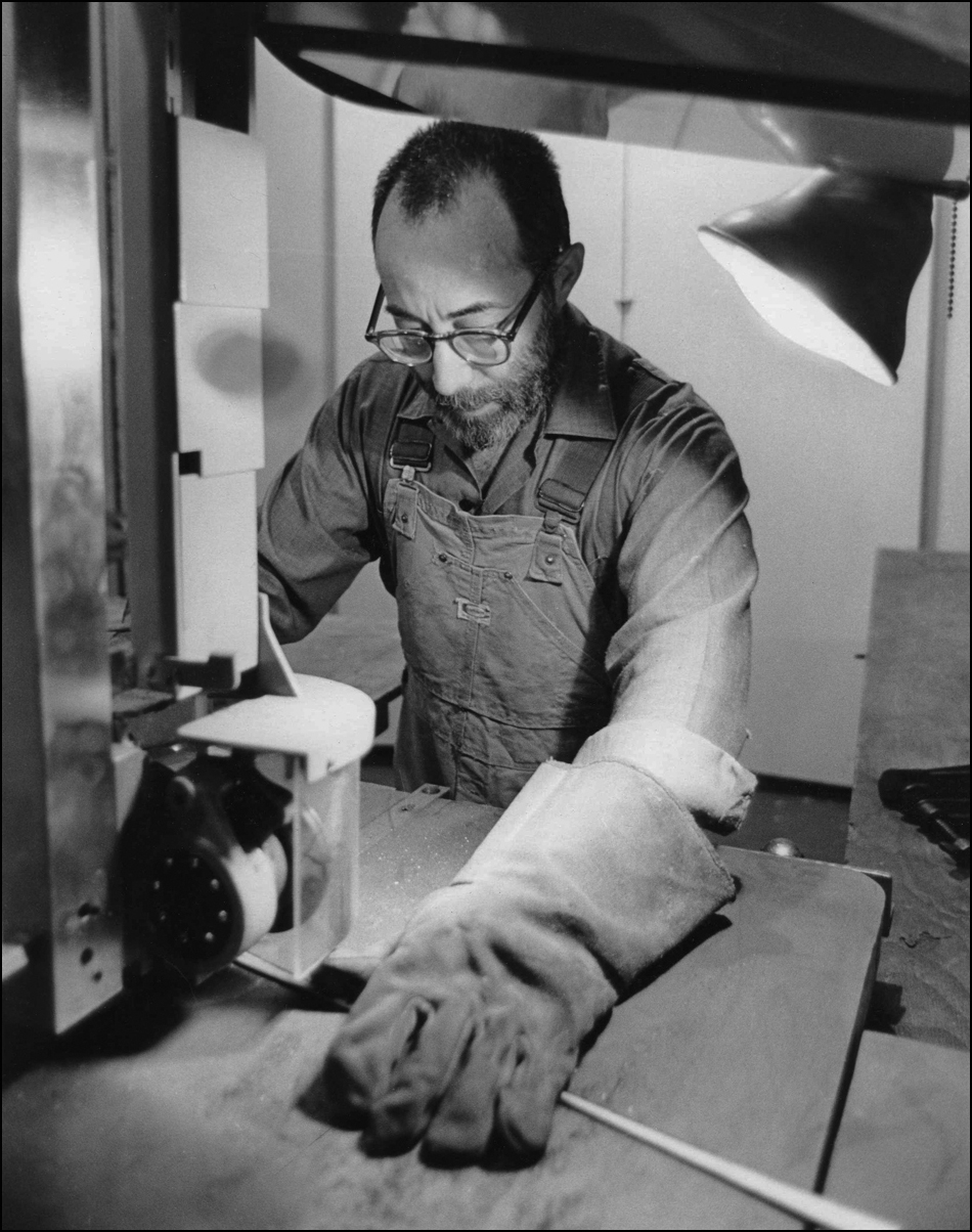 Cutting Stainless Steel with a Bandsaw - 1968