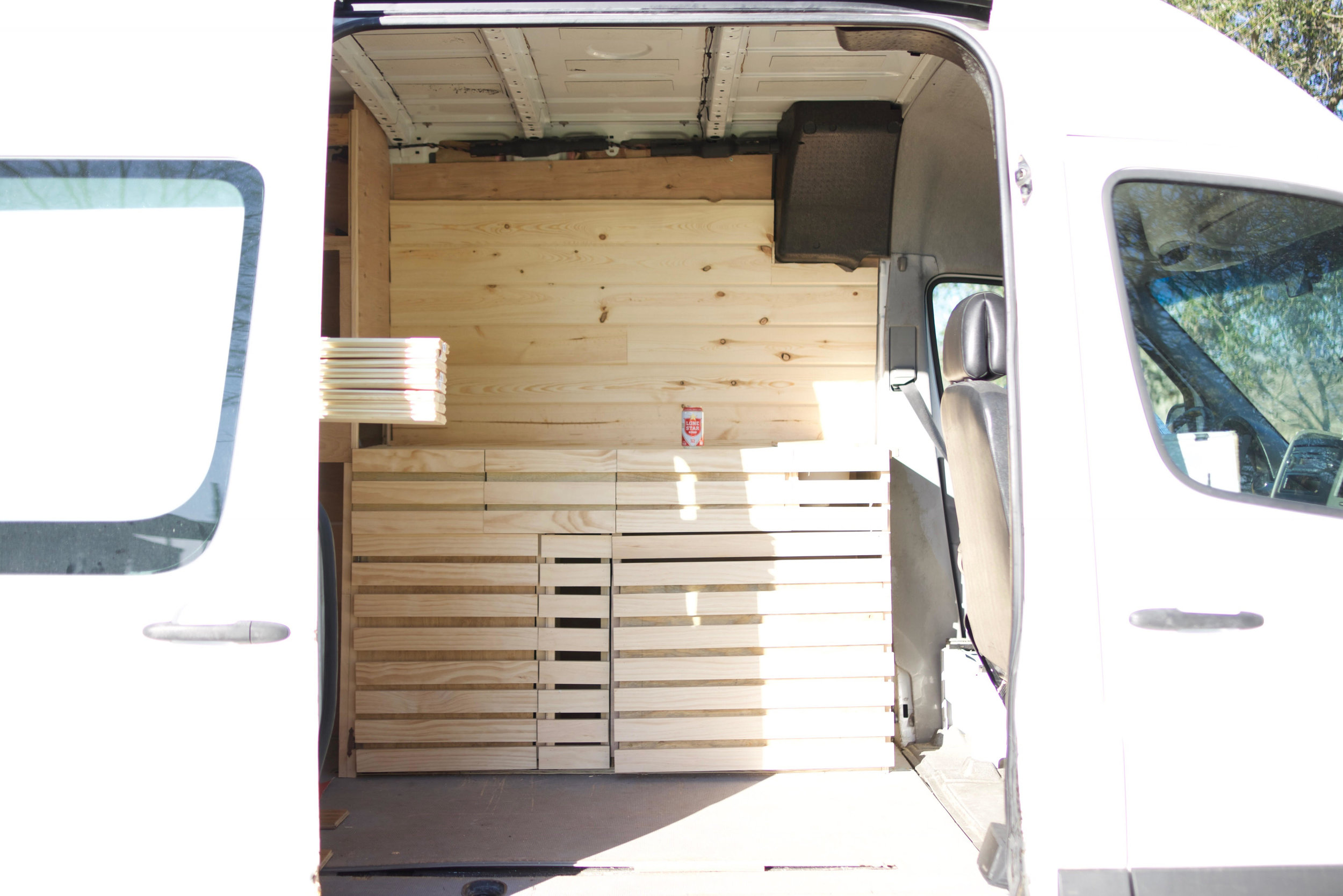 A faster house. - Working with Chewy Design Co. will ensure your van is built ready for anything, not just cross-continental travel but also as a long term home. Your van will be as unique as you are and feel like home. You will learn how to install everything from running water to a powerful, electric generator powered by the sun. We will work together to give the van your touch and prepare you for years of travel.